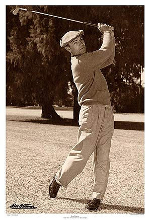 Ben Hogan Claimed Four U S Open Titles Between 1948 And 53