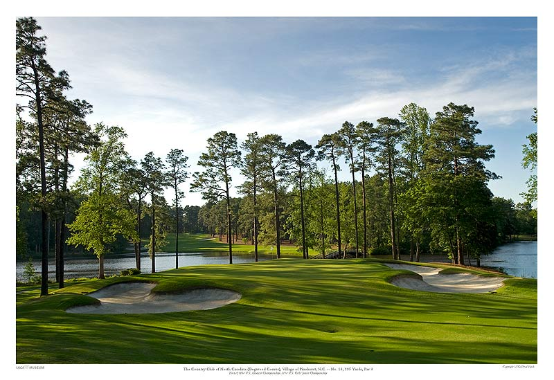 13th Hole Country Club Of North Carolina